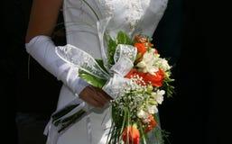 Vêtements de mariage Image libre de droits