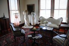 Vêtements de mariage de vintage Images stock