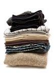 Vêtements empilés Image libre de droits