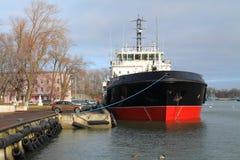 VTN-74 - the multipurpose vessel of complex port service Stock Images