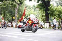 The VTV International Cycling Tournament – Ton Hoa Sen Cup 2016 on September 2, 2016 in Hanoi, Vietnam. Royalty Free Stock Photography