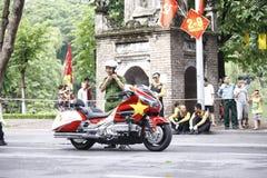 VTV kolarstwa turnieju Międzynarodowego †'tony Hoa Sen Filiżanka 2016 na Wrześniu 2, 2016 w Hanoi, Wietnam Obraz Royalty Free