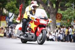 VTV kolarstwa turnieju Międzynarodowego †'tony Hoa Sen Filiżanka 2016 na Wrześniu 2, 2016 w Hanoi, Wietnam Obraz Stock