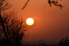 Vu de l'ensemble de Sun photos stock
