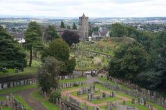 Vu de Stirling Castle Photos stock