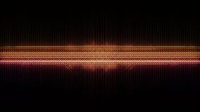 Vu-Funkeln-Meter-Partikel sprengt Streifen stock footage