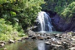 Vuadomo Waterfall Fiji Stock Photos