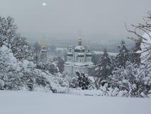 Vudubickiy-Kloster, Kiew, Ukraine Stockbild