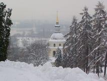 Vudubickiy-Kloster, Kiew, Ukraine Stockfotografie