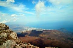 Vue à Alushta images libres de droits