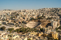 Vue à Amman Photographie stock