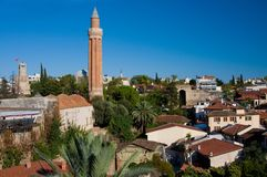 Vue à Antalya Photos libres de droits