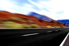 Vue à grande vitesse grande photo stock