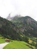 Vue à la montagne de tribulaun, Tyrol du sud, Italie, l'Europe Images stock