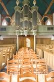 Vue à la partie occidentale de l'église Photos libres de droits