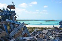 Vue à partir de dessus de côte de BooBoo Photo libre de droits
