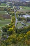 Vue à partir de dessus de montagne de Sugarloaf Photo libre de droits