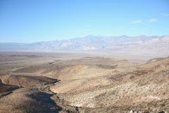 Vue à un désert Images stock