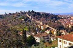 Vue à vieux Florence images stock