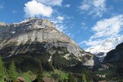 Vue élevée de montagne Photo libre de droits