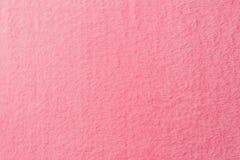 vue élevée de textile mou rose photographie stock