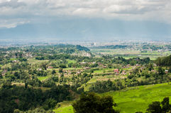 Vue élevée du Népal Photographie stock libre de droits