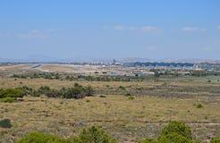 Vue éloignée d'aéroport d'Alicante Photographie stock libre de droits