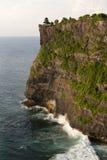 Vue étonnante de falaise escarpée Photographie stock libre de droits