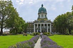 Vue étonnante de musée impérial de guerre, Londres, Angleterre, Royaume-Uni images stock