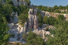 Vue étonnante du mariage de pierre de phénomène de roche, Bulgarie photographie stock libre de droits