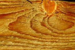 Vue étroite de la texture en bois de panneau de cru photo stock