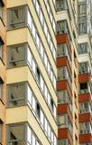 Vue étroite sur le bâtiment residental Photos libres de droits