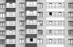 Vue étroite sur le bâtiment residental Photographie stock
