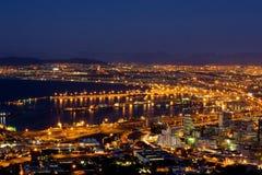 Vue #1 de Capetown Photographie stock