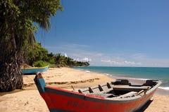 Vue 1 de plage Photos libres de droits