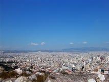 Vue 15 d'Athènes images stock