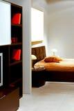 Vue 2 de chambre à coucher Images libres de droits