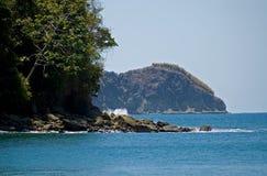 Vue 2 de plage Photos libres de droits