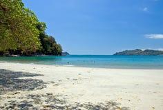 Vue 3 de plage Images libres de droits