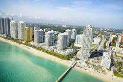 Vue aérienne à Miami photo stock