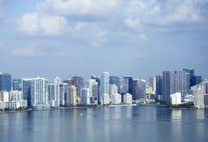 Vue aérienne à Miami photographie stock libre de droits