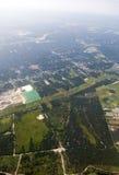 vue aérienne Images stock