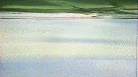 Vue aérienne archivistique du bâti de St Michael banque de vidéos