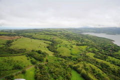 Vue aérienne au Costa Rica Images stock