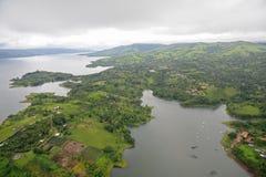 Vue aérienne au Costa Rica Photo stock