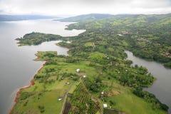 Vue aérienne au Costa Rica (8) Images libres de droits