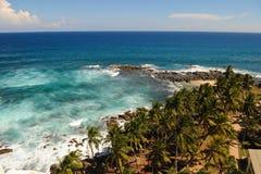 Vue aérienne côtière Photo libre de droits