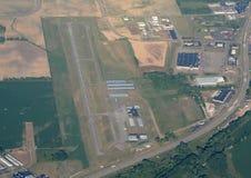 Vue aérienne d'aéroport Photographie stock libre de droits