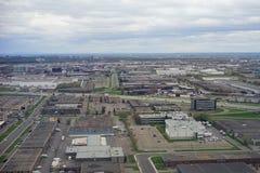 Vue aérienne d'aéroport de Toronto Image stock
