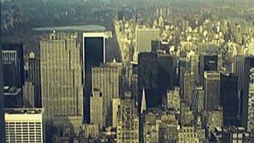 Vue aérienne d'Empire State Building clips vidéos